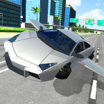 Flying Car City 3D Apk