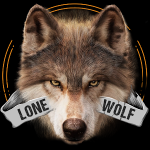 Lone Wolf Wallpaper and Keyboard apk for android