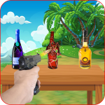 Bottle Shooting Target : Real Bottle Shooter APK