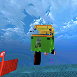 Mega Rikshaw Extreme Impossible Stunts 3D APK