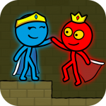 Red and Blue Stickman Mod Apk