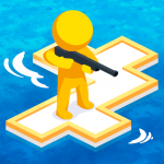 War of Rafts: Crazy Sea Battle MOD APK